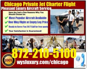 Private Jet Air Charter Service In From Or To Chicago Illinois Empty LegPriva